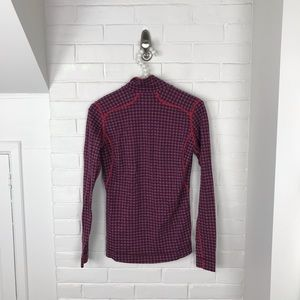 Smartwool Tops - {Smartwool} Patterned Wool Base Layer Pullover